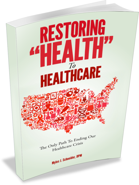 "The Restoring ""Health"" to Healthcare book"